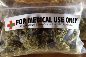 Prescription bag medical cannabis